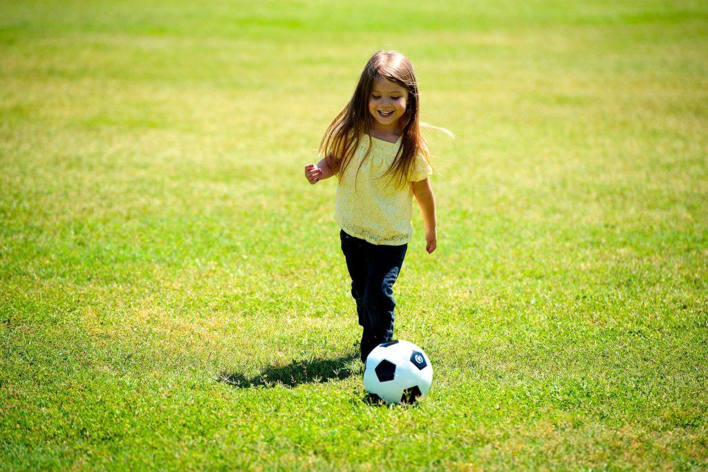 Mädchen Fußball